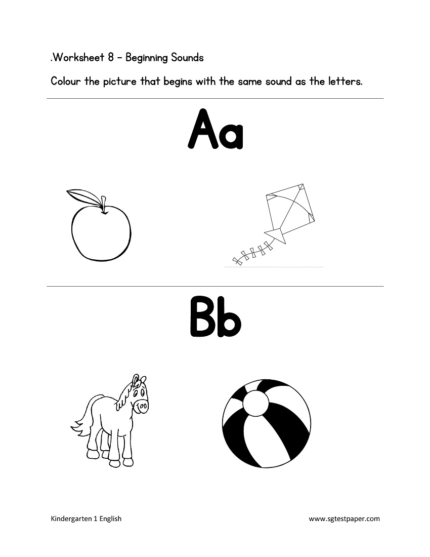 free kindergarten preschool worksheets printables. Black Bedroom Furniture Sets. Home Design Ideas